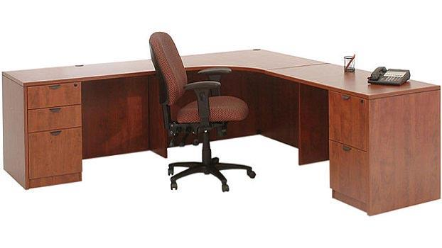 New Office Executive Suite Laminate Desks Of All Styles Available At Outlook Solutions Llc