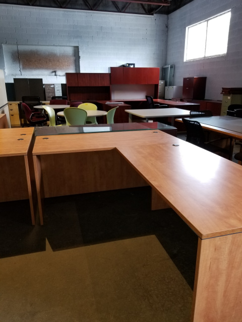 Used Steel Office Desks Of All Styles Available At Outlook Office
